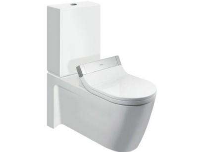 Duravit SensoWash Starck 2 Vas WC monobloc pe pardoseala 37x72 cm, conexiuni ascunse