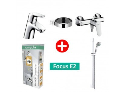 Hansgrohe Focus Comfort Set promo dus 3 in 1