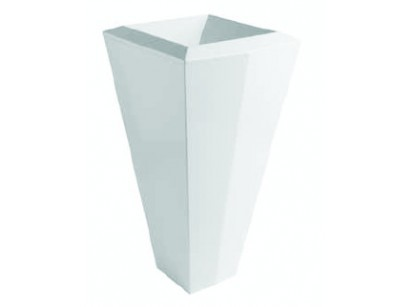 Olympia Crystal Lavoar Free standing 45x45 cm, H86 cm