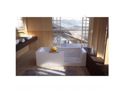 Glass Elle Bath Cada 180x75 cm