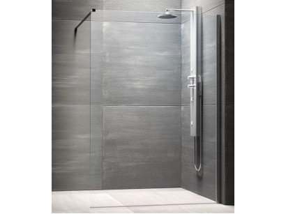 Glass Step-In Cabina de dus Walk-in 140 cm