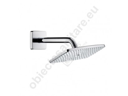 "Hansgrohe Raindance E 240 Air 1 jet Dus fix 1/2"", cu brat orizontal 240 mm"