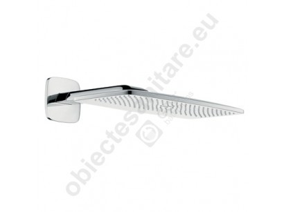 "Hansgrohe Raindance E 420 Air 1 jet Dus fix 1/2"", cu brat orizontal 385 mm"