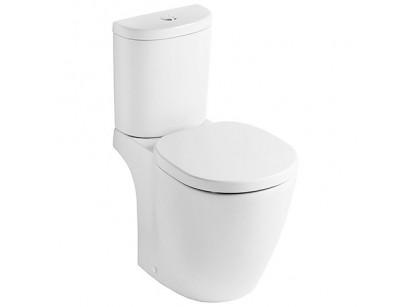 Ideal Standard Connect Space Vas WC monobloc pentru rezervor pe vas, scurgere orizontala 36x60 cm