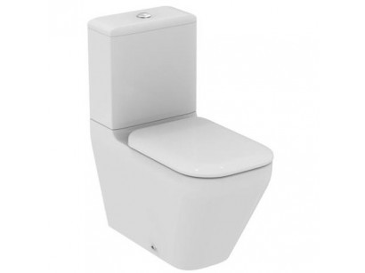 Ideal Standard Tonic II AquaBlade Vas WC monobloc lipit de perete cu capac soft-close, 36x67 cm