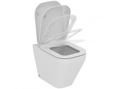 Ideal Standard Tonic II AquaBlade Vas WC pe pardoseala lipit de perete cu capac soft-close, 36x56 cm