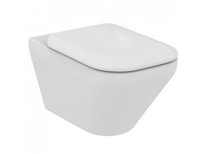 Ideal Standard Tonic II AquaBlade Vas WC suspendat cu capac, 36x56 cm