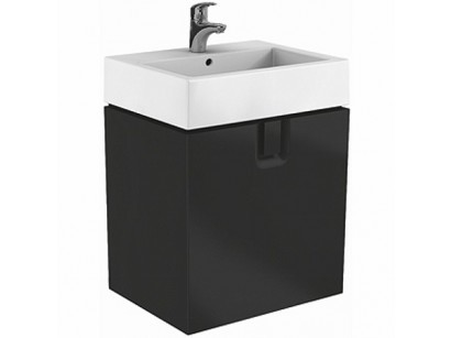 Kolo Twins Baza lavoar cu sertar 60x46xH57 cm, negru