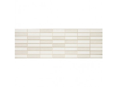 Marazzi Colourline Mosaico White Decor 22x66 cm