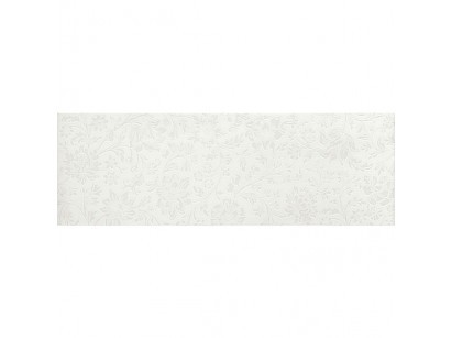 Marazzi Colourline Ramage White Decor 22x66 cm