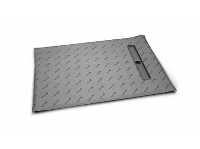 Radaway Sistem de scurgere faiantabil cu rigola pe latime (placi 8-12 mm) 100x80 cm
