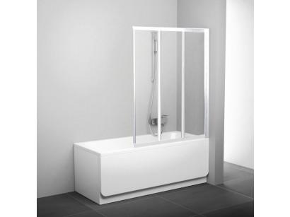 Ravak VS3 Paravan cada cu trei elemente 100 cm, alb