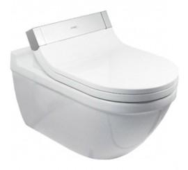 Duravit SensoWash Starck 2 Vas WC suspendat 37x62 cm, conexiuni ascunse