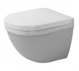 Duravit Starck 3 Vas WC suspendat compact 36x48 cm, fixare ascunsa