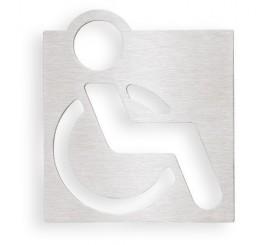 Bemeta Hotel Indicator toaleta pentru persoane cu dizabilitati, crom mat