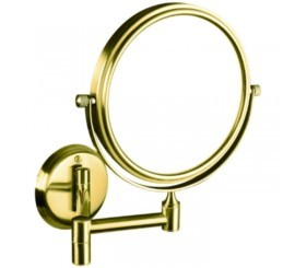 Bemeta Retro Oglinda cosmetica de perete, auriu