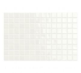 Marazzi Chroma White/Grey Mozaic pe placa 25x38 cm