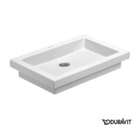 Duravit 2nd floor Lavoar Vanity Drop-in de incastrat in blat 58x41 cm