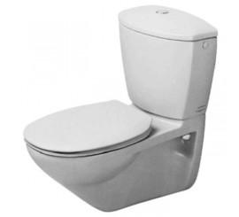 Duravit Duraplus Practica-Cascade Vas WC suspendat 37x65 cm