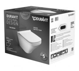 Duravit Durastyle Set vas WC 37x54 cm si capac inclus