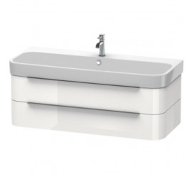 Duravit Happy D.2 Mobilier Vanity suspendat, white high gloss, 118x48xH38 cm