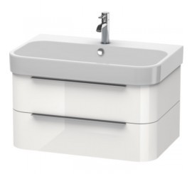 Duravit Happy D.2 Mobilier Vanity suspendat, white high gloss, 78x48xH38 cm