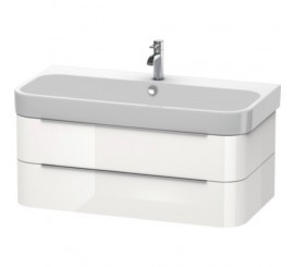Duravit Happy D.2 Mobilier Vanity suspendat, white high gloss, 98x48xH38 cm