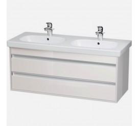 Duravit Ketho Mobilier Vanity suspendat 115x46xH48 cm, 2 sertare, pentru lavoar D-Code, crem Taupe