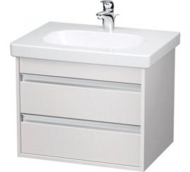 Duravit Ketho Mobilier Vanity suspendat 60x46xH48 cm, 2 sertare, pentru lavoar D-Code, alb