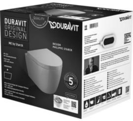 Duravit ME by Starck Set vas WC 37x48 cm, cu capac inclus