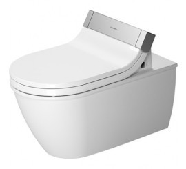Duravit SensoWash Darling New Vas WC suspendat 37x62 cm, conexiuni ascunse