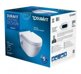 Duravit Starck 3 Set vas WC si capac cu soft close