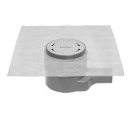 Easy Drain Aqua Round Set complet rigola de dus rotunda, capac si sifon Ø10 cm