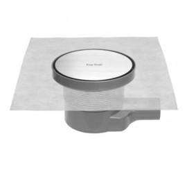 Easy Drain Aqua Round Set complet rigola de dus rotunda, capac si sifon Ø15 cm