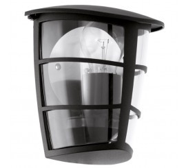 Eglo Aloria Aplica 1x60W, negru