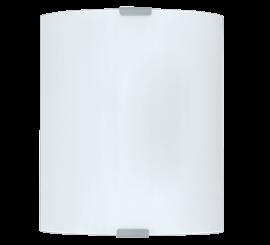 Eglo Grafik aplica 1x60W, 18xH21 cm, alb