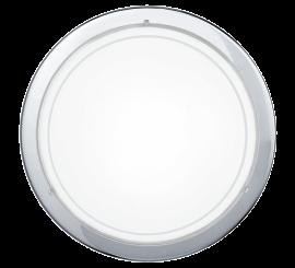 Eglo Planet 1 Aplica 1x60W, Ø29 cm, alb/crom