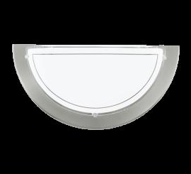 Eglo Planet 1 Aplica 1x60W, 29xH15 cm, alb/nichel