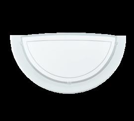 Eglo Planet 1 Aplica 1x60W, 29xH15 cm, alb
