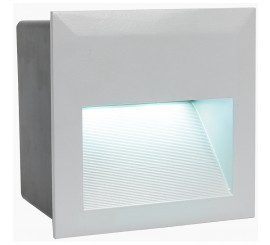 Eglo Zimba-LED Lampa patrata incastrata 1x3.7W, argintiu