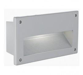 Eglo Zimba Lampa dreptunghiulara incastrata 1x60W, E14, argintiu