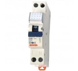 Gewiss Compact MCB Siguranta automata faza+nul 20A