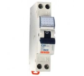 Gewiss Compact MCB Siguranta automata faza+nul 25A