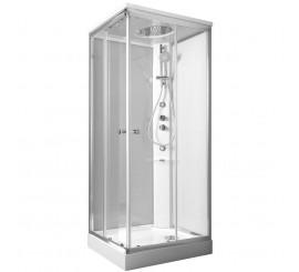 Glass Archimede Shower Cabina de dus dreptunghiulara 100x80 cm