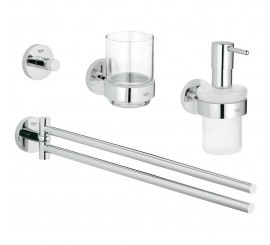 Grohe Essentials Set de accesorii 4 in 1, crom