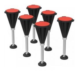 Ideal Standard Set 6 picioare pentru cadita dus