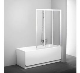 Ravak VS3 Paravan cada cu trei elemente 130 cm, alb