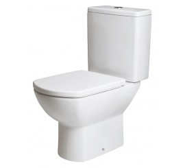 Gala Smart Vas WC monobloc pentru rezervor pe vas 35x65 cm
