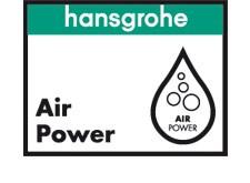 Cu aceasta tehnologie Hansgrohe, apa este amestecata cu aer, oferind un simt placut spumant la atingere. Apa imbogatita cu aer face picaturile mai ușoare si mai moi. Acest lucru inseamna ca folosiți apa mai eficient.