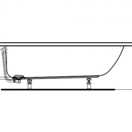 Ideal Standard Connect Air Set picioare de sustinere
